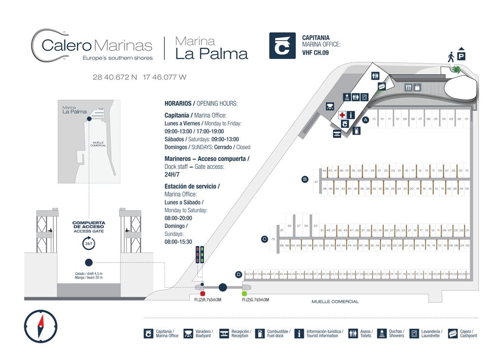 Marina La Palma - marina plan