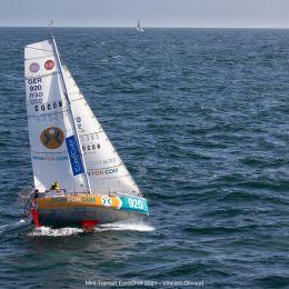 Se prevé para hoy la llegada de Melwin Fink como ganador de la primera etapa de la Mini Transat en categoría Serie