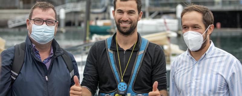 Tanguy Bouroullec se proclama ganador de la primera etapa de la Mini Transat EuroChef tras más de siete días de travesía
