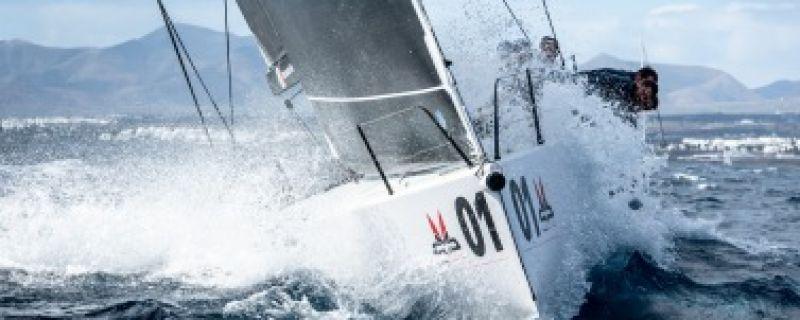 Rombelli Conquers 2018 Lanzarote Melges 40 Grand Prix
