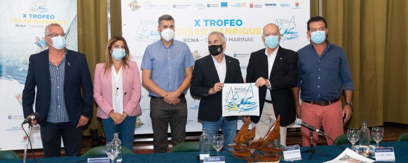 """Presentación del """"X Trofeo César Manrique"""""""