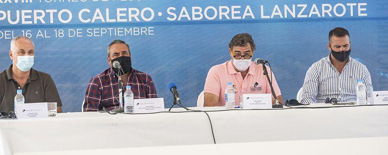 DEPORTE Y GASTRONOMÍA SE UNEN EN EL XXVIII TORNEO DE PESCA PUERTO CALERO SABOREA LANZAROTE
