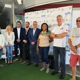THE RALLYE DES ILES DU SOLEIL ARRIVES TO MARINA LA PALMA
